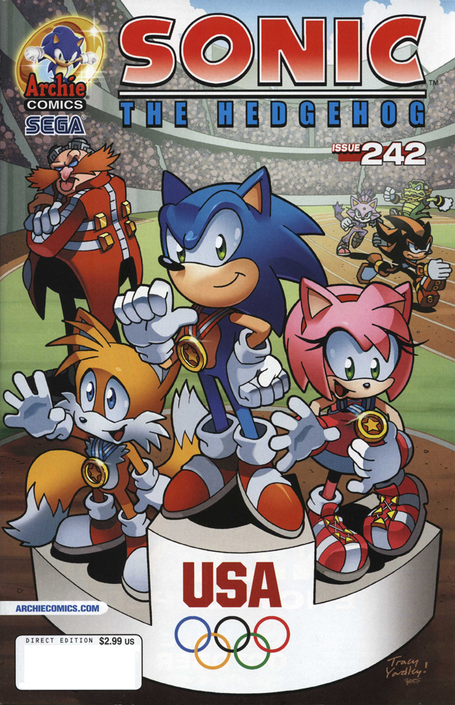 Read online Sonic The Hedgehog comic -  Issue #242 - 1