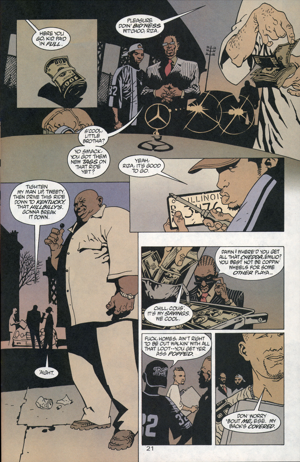 Read online 100 Bullets comic -  Issue #1 - 22