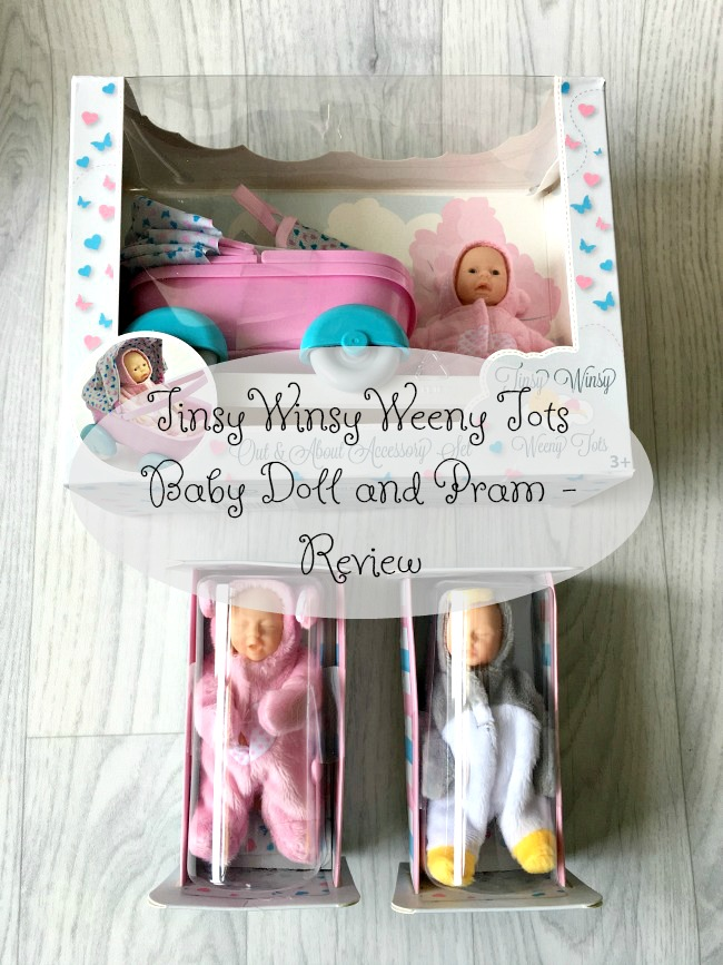 Tinsy-winsy-weeny-tot-doll-pram-review-text-over-image-of-pram-set-and-two-baby-dolls