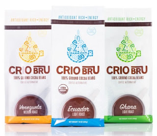 Loving Crio Bru - brewed cacao!