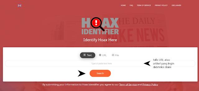 Ulasan mengenai cara mendeteksi berita hoax dan layanan hoax identifier yang kredibel dan berkualitas. Turnbackhoax.id, hoax.id, dfi.id, abiebdragx.