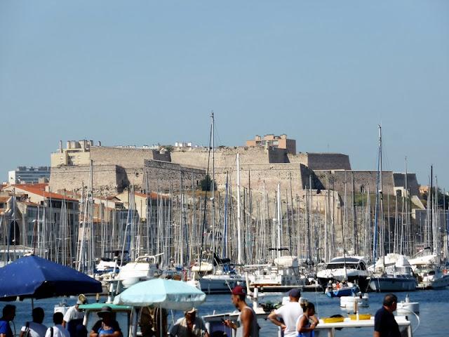 Marsella, Fuerte de San Nicolás