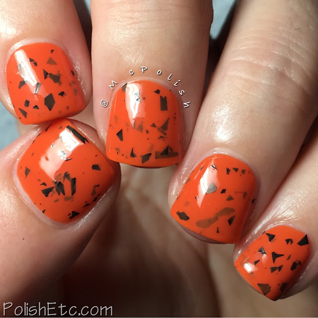 Nine Zero Lacquer - Halloween 2016 Collection - McPolish - Jack-o-lantern Juice