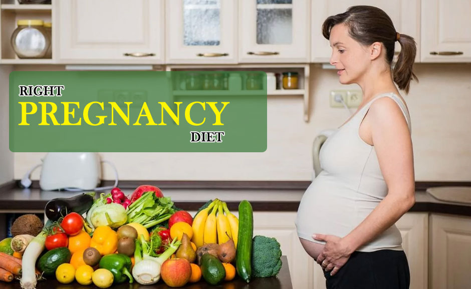 The Right Pregnancy Diet to Maintain Good Health & Ensure Proper Growth for the Baby