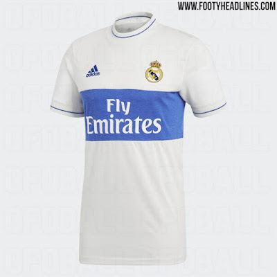 Real Madrid 2018 Adidas Retro Kits