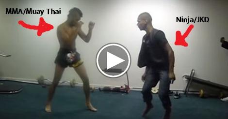 MMA vs Ninja
