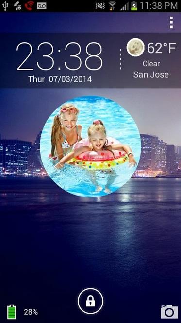 Ini Aplikasi Asyik Bisa Memajang Foto Slideshow di Lock Screen