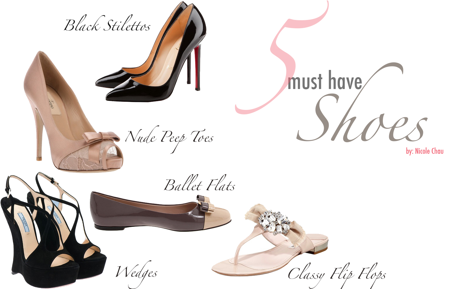 Five Essential Shoes for Every Girl