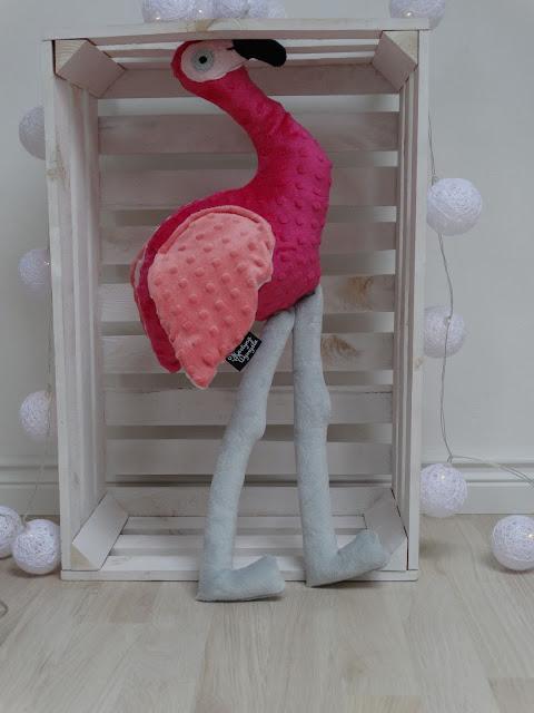 różowy flaming maskotka 4