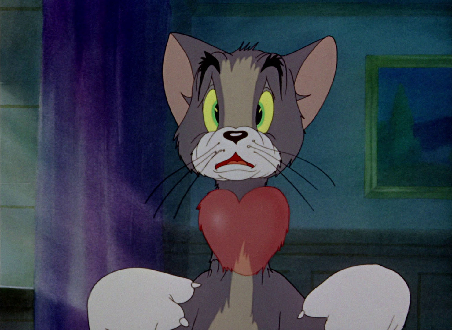"""Tom & Jerry Pictures: """"Fraidy Cat"""""""