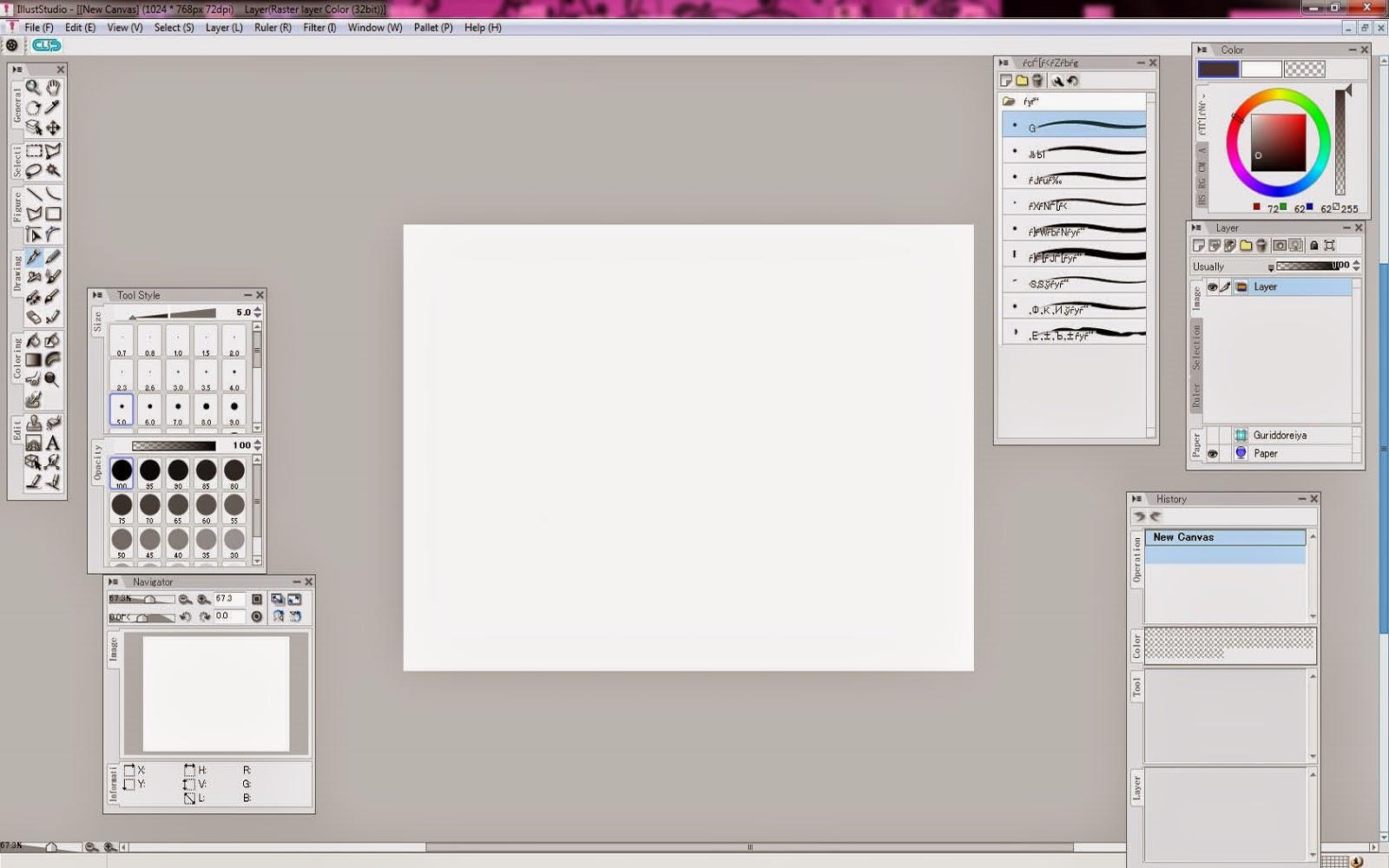 Программу рисования манги и аниме