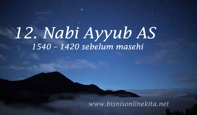 nabi ayyub as nama nama nabi