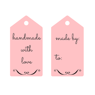 Homemade gift tags - free printables