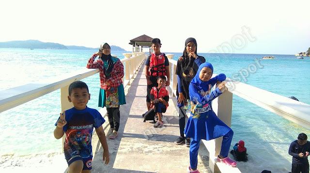 Jeti PIR Perhentian Island Resort , Pulau Perhentian Besar