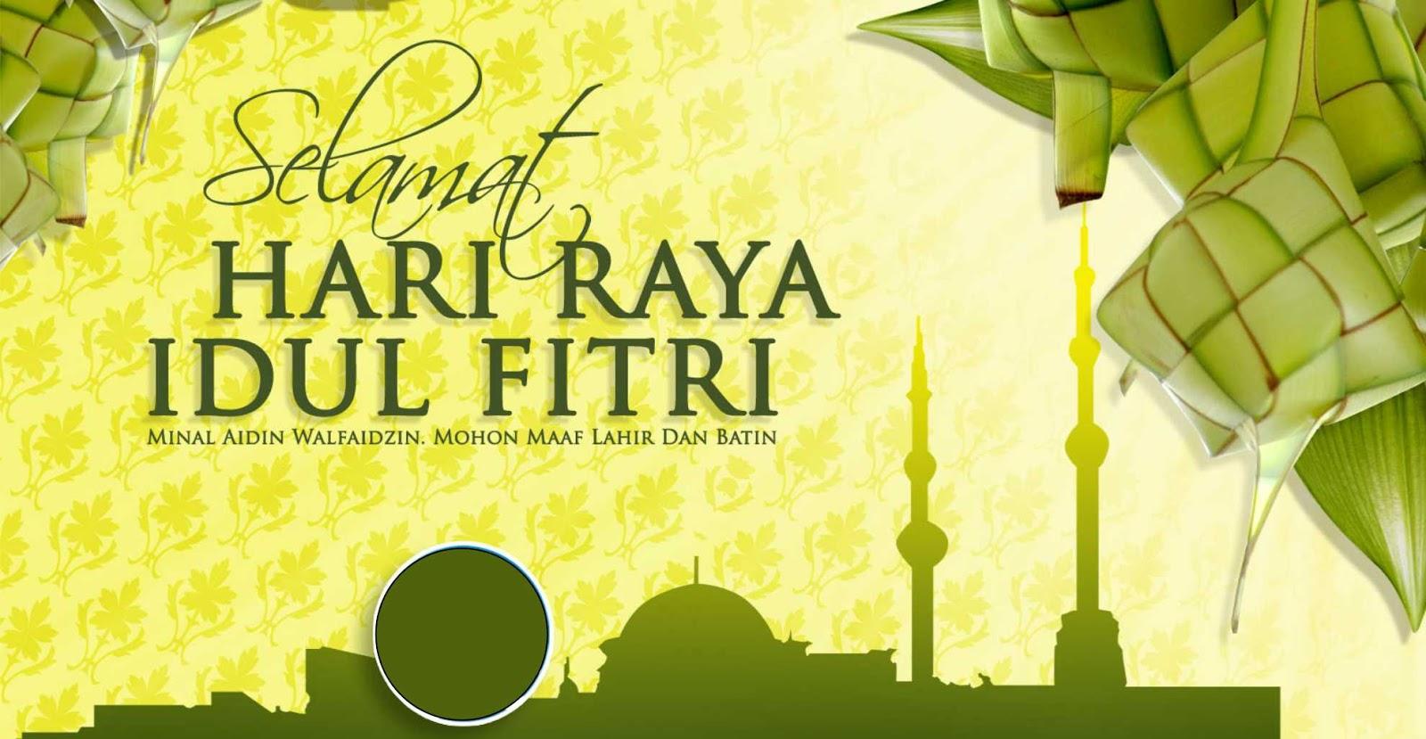 Ucapan Selamat Idul Fitri 1437H Tahun 2016