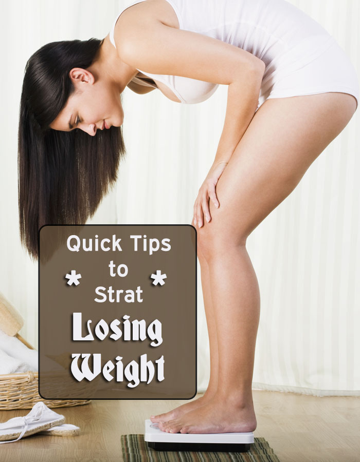 Quick Tips to Start Losing Weight