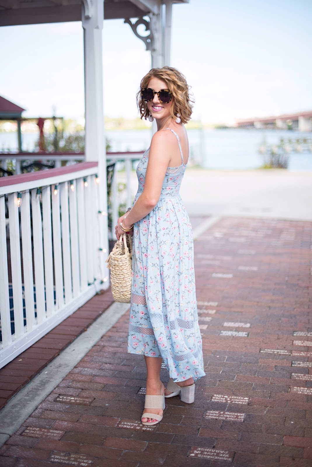 Under $70 High Low Dress - Click through to see more on Something Delightful Blog!