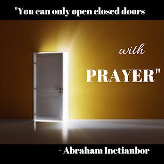 prayer is the key