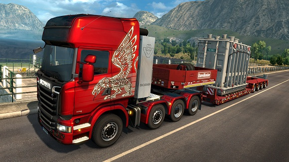 Euro Truck Simulator 2 Beyond the Baltic Sea-CODEX