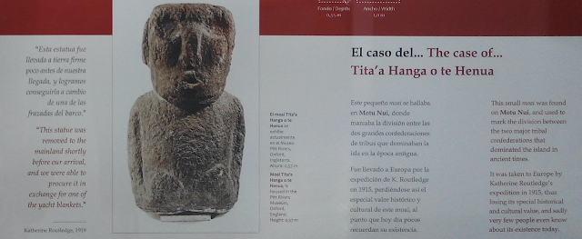 Expolio en Orongo, Isla de Pascua