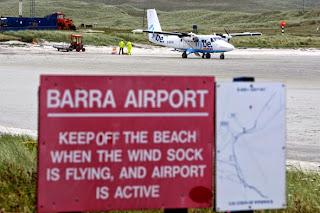 Barra Airport pics