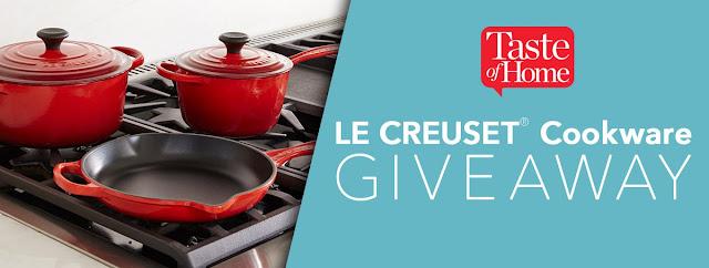 Taste of Home Le Creuset Cookware Set Giveaway