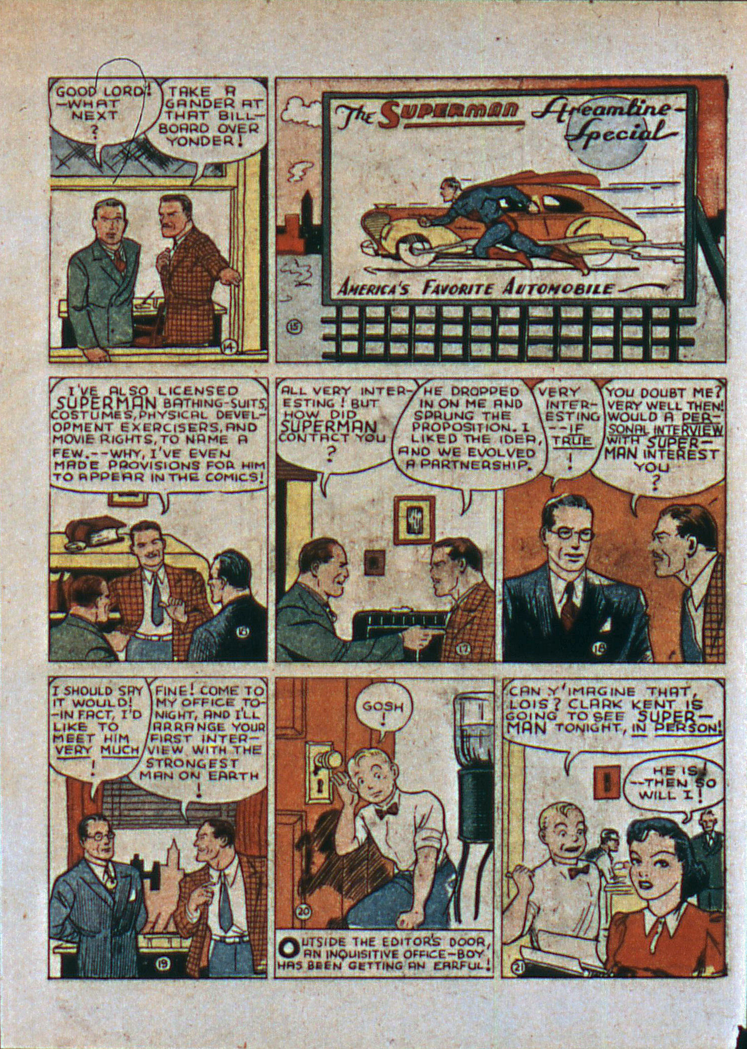Read online Action Comics (1938) comic -  Issue #6 - 6