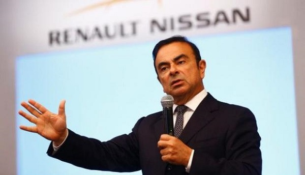 Arrestaron a Carlos Ghosn Renault-Nissan-Mitsubishi Motors