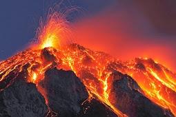 Pengertian Gunung Meletus, Material Yang Dikeluarkan Dan Dampaknya