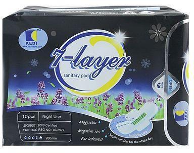 kedi 7 layers sanitary pad