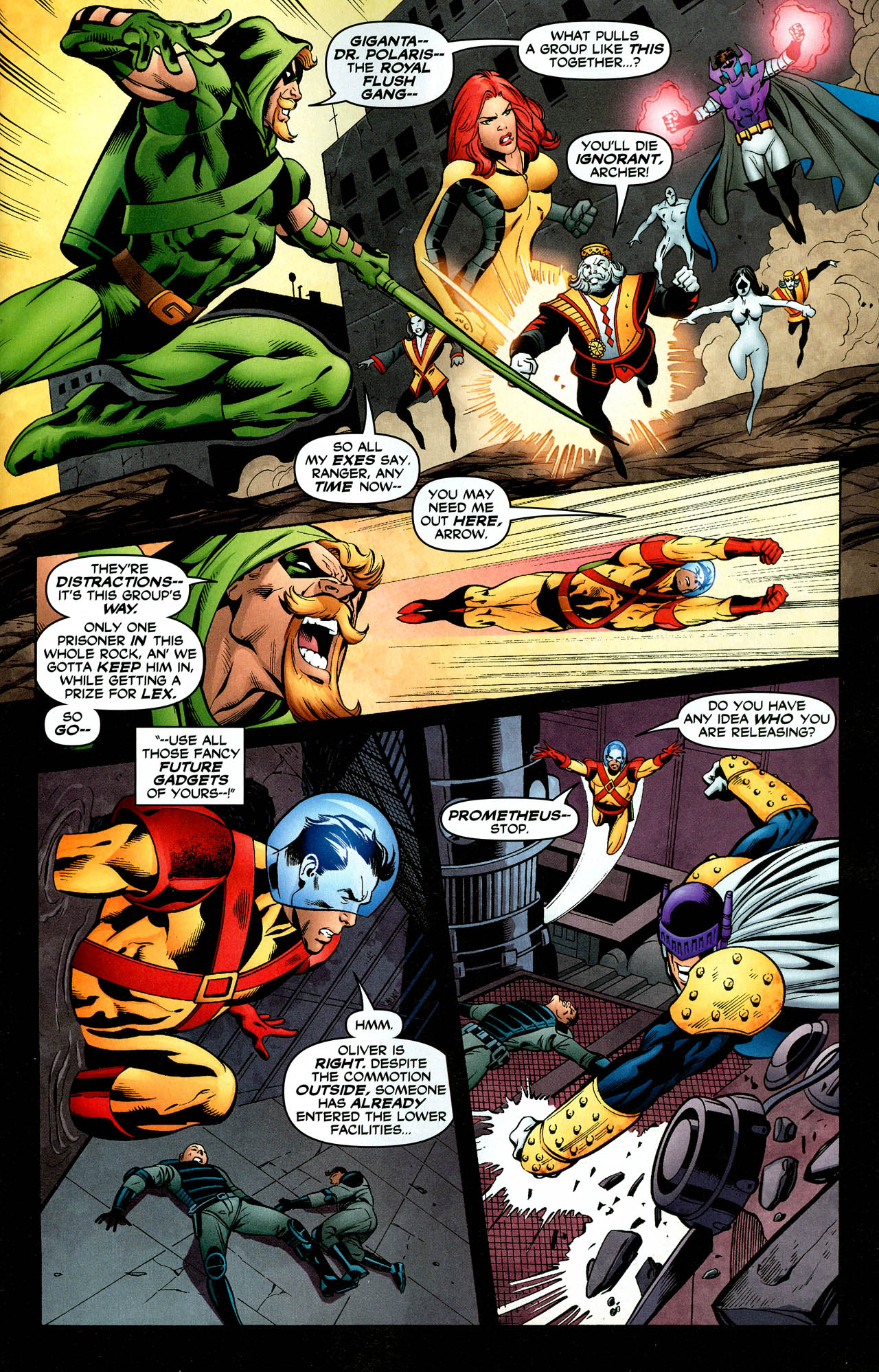 Read online Trinity (2008) comic -  Issue #29 - 21