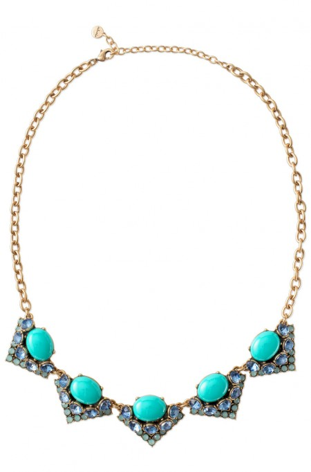 Stella & Dot Rory Necklace Turquoise