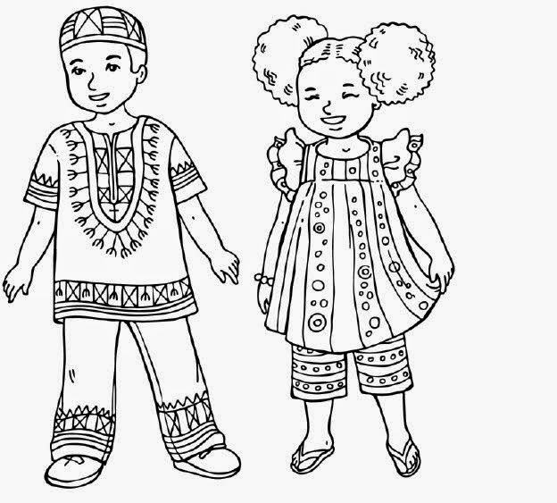 23 Nisan Dünya çocukları Boyama Sayfaları Bilgi çeşnisi