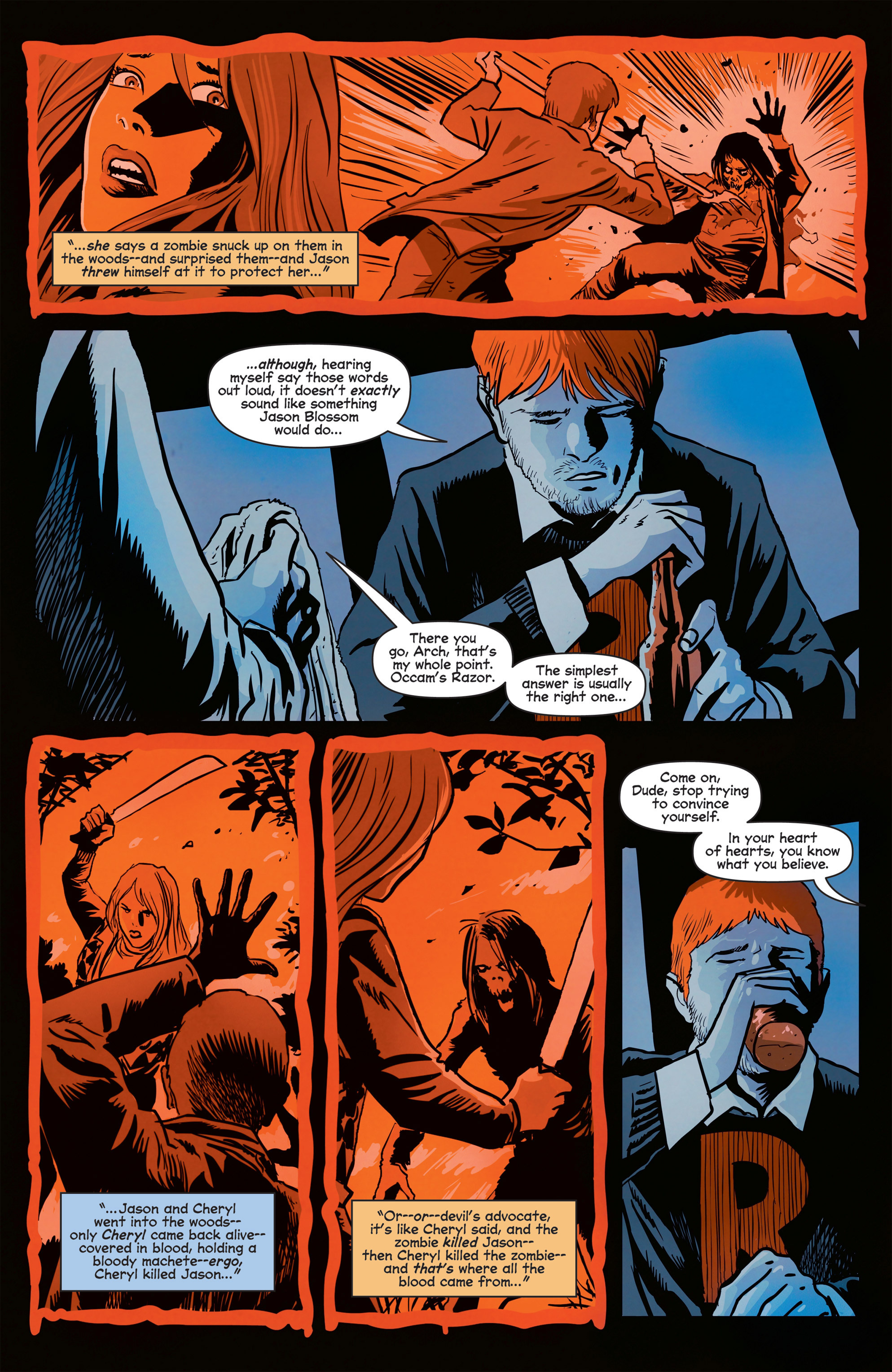 Read online Afterlife with Archie comic -  Issue #8 - 5