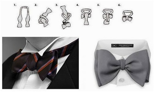 Bow necktie & Butterfly bow tie