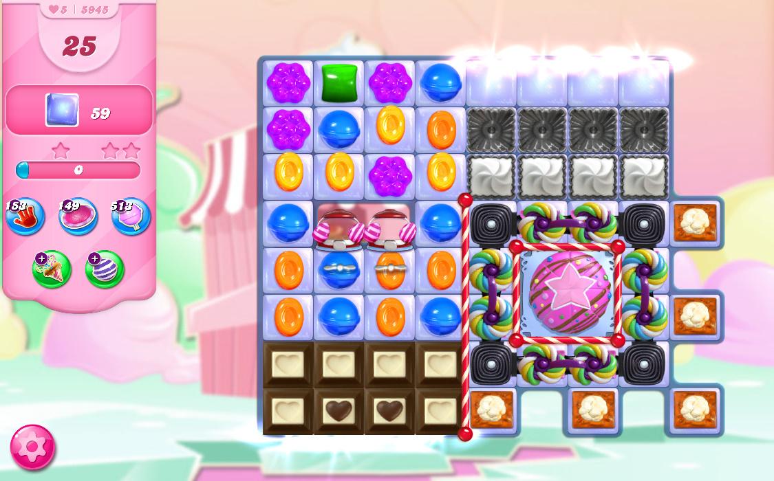 Candy Crush Saga level 5945