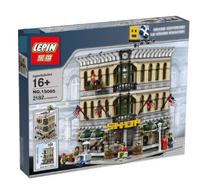its-not-lego.blogspot.com, lepin modular buildings
