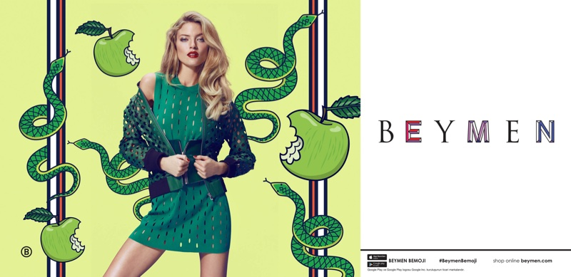 Beymen Spring/Summer 2017 Campaign featuring Martha Hunt