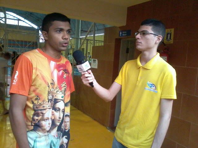 Jackson Capistrano Junior Ribeiro Salesianas Aracati TV Sinal