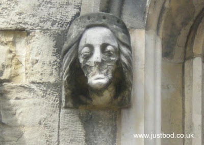 Carving St Martin le Grand, York