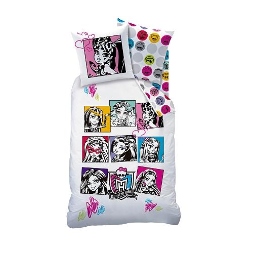 Funda Nordica Monster.Monster High Pretty Monster High Pack 2 Piezas Funda Nordica