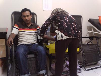 gambar donor darah di Muara Enim