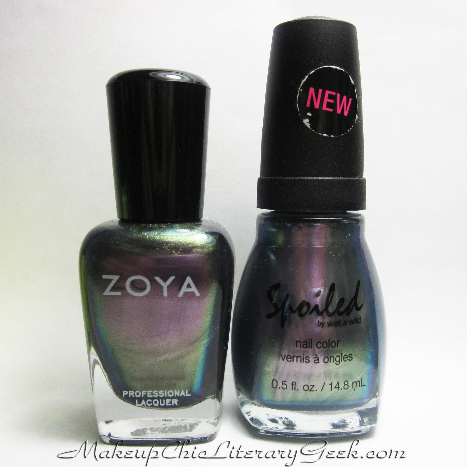 knew it looked like a perfect dupe for Zoya Ki  Look at thatZoya Adina Dupe
