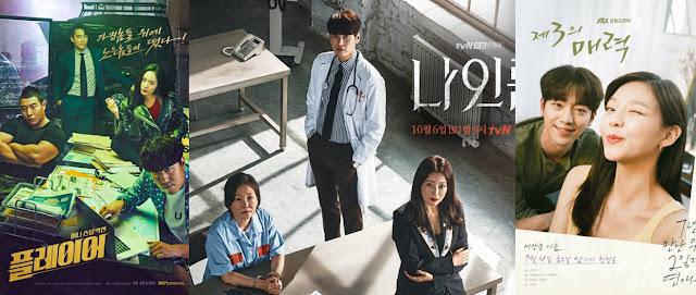 OCN《Player》收視超越 tvN《九號房間》成為週末劇收視冠軍!