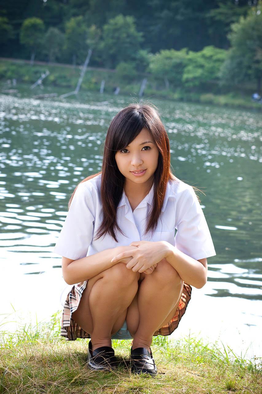 nana ogura sexy schoolgirl cosplay 04