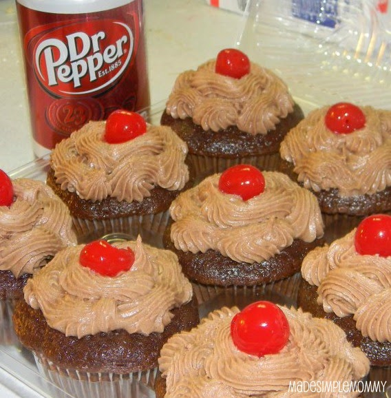 Sugar For Breakfast: Dr. Pepper Cupcakes