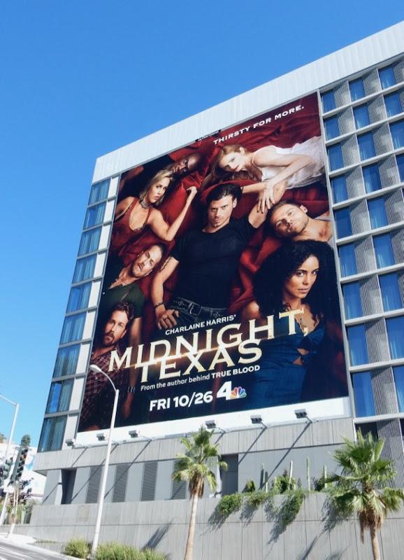 Midnight Texas season 2 billboard