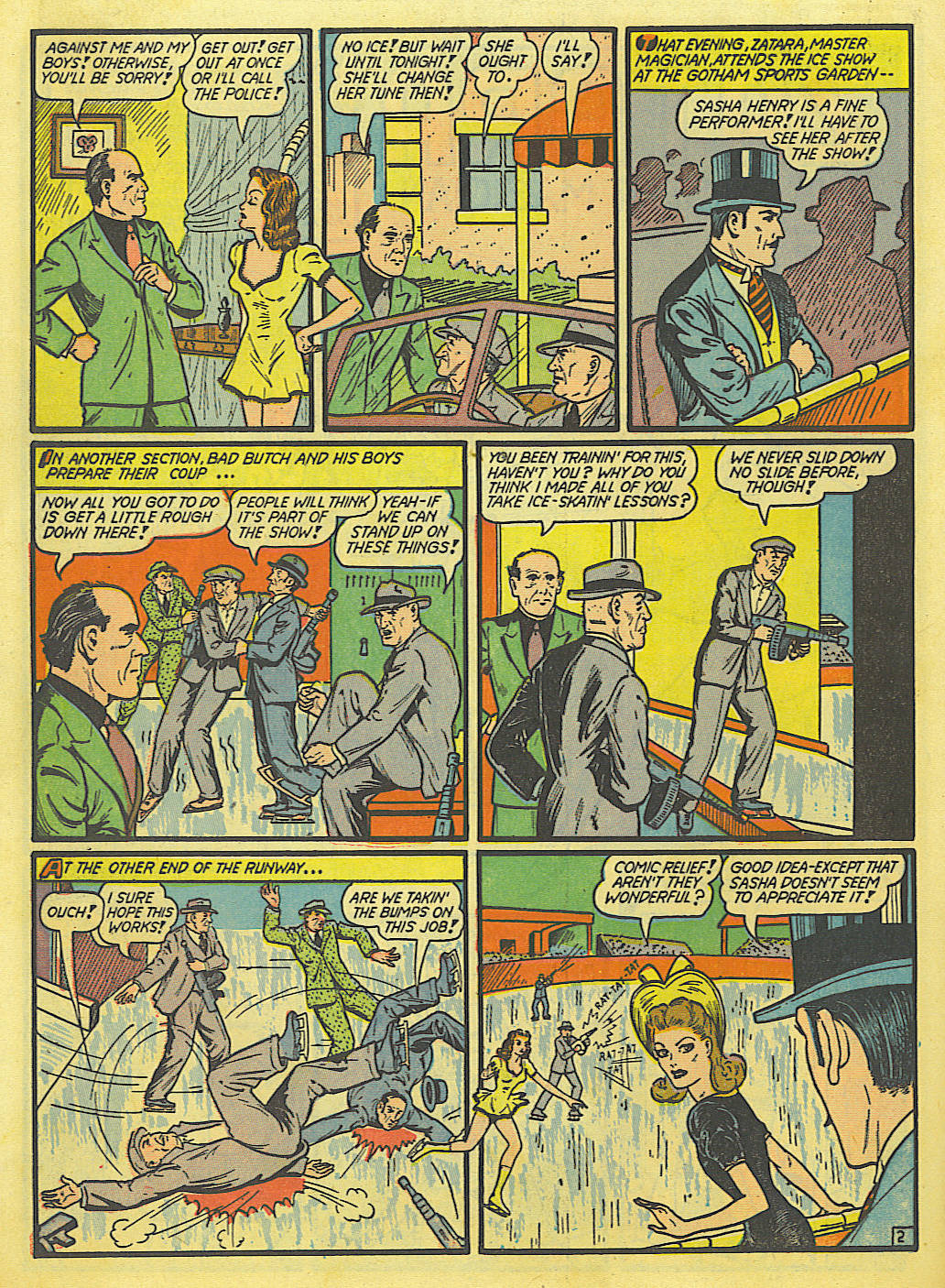Read online Action Comics (1938) comic -  Issue #52 - 58