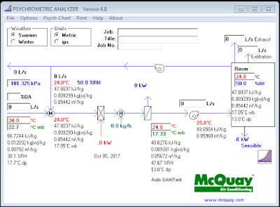 Download McQuay Psychrometric Analyzer version 6.8 for free