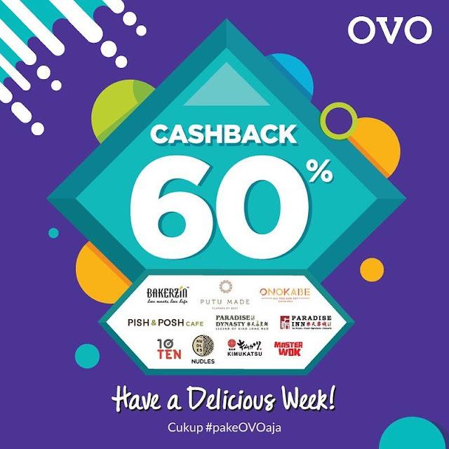 #OVO - #Promo Caschback 60% di Resto / Cafe Boga Group (s.d 21 Maret 2019)